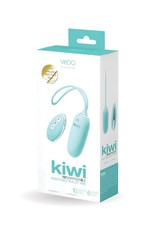 VEDO VEDO - KIWI RECHARGEABLE INSERTIBLE BULLET  - TEASE ME TURQUOISE