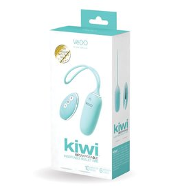 VEDO - KIWI RECHARGEABLE INSERTIBLE BULLET  - TEASE ME TURQUOISE