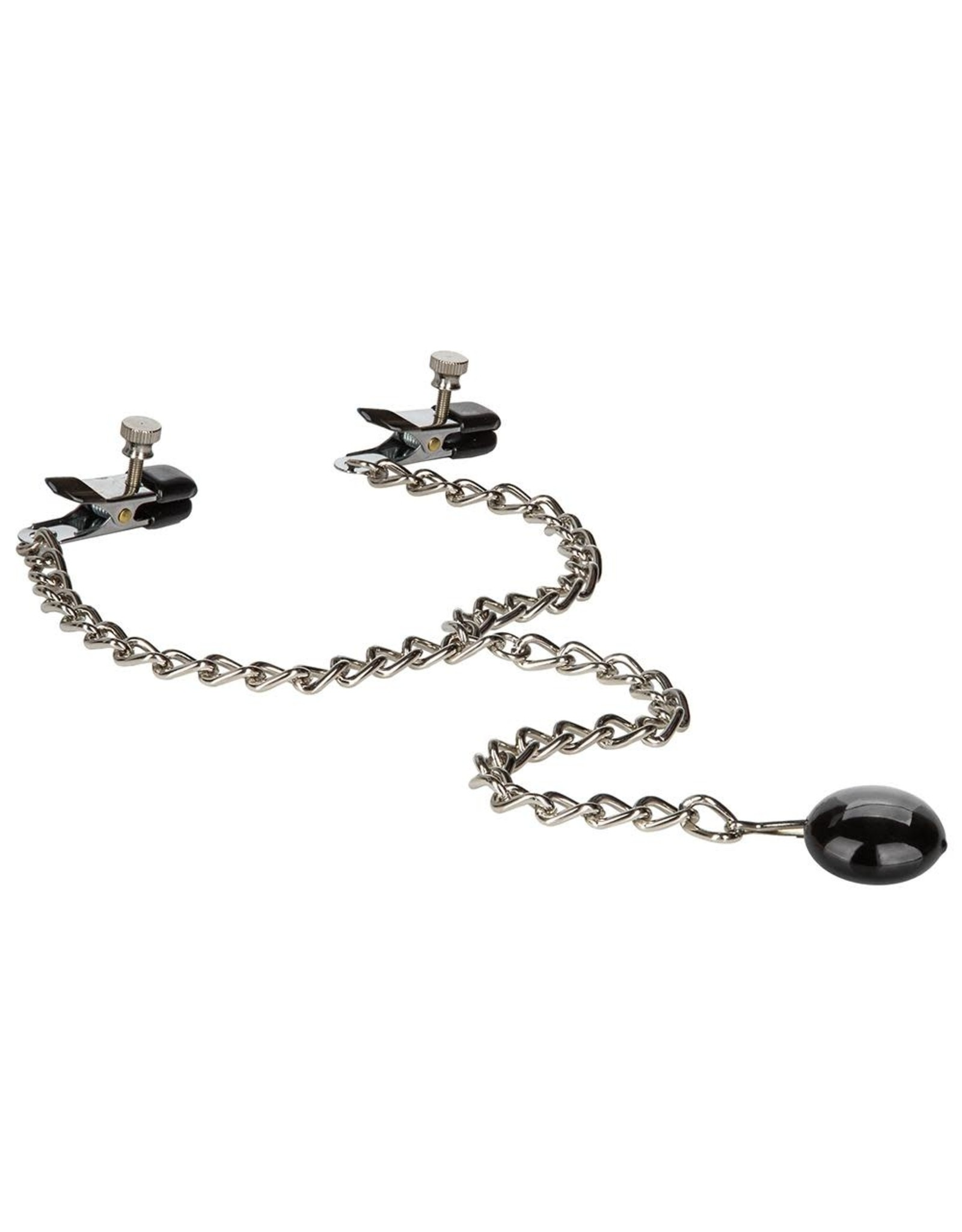 CALEXOTICS - NIPPLE PLAY - WEIGHTED DISC NIPPLE CLAMPS