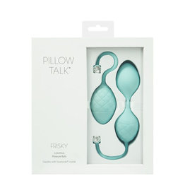 PILLOW TALK - FRISKY - TEAL