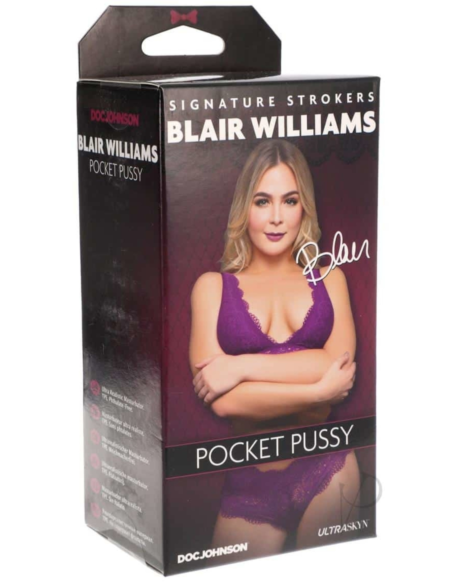 BLAIR WILLIAMS ULTRASKYN POCKET PUSSY
