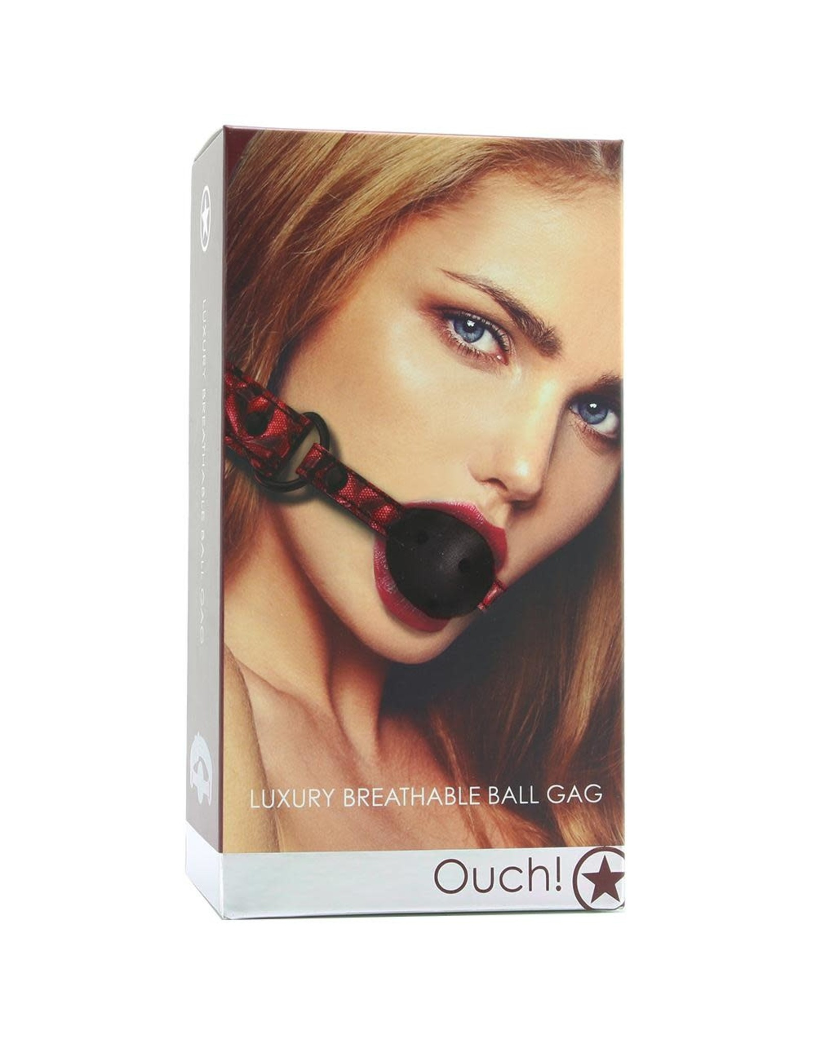 OUCH OUCH! - LUXURY BREATHABLE BALL GAG