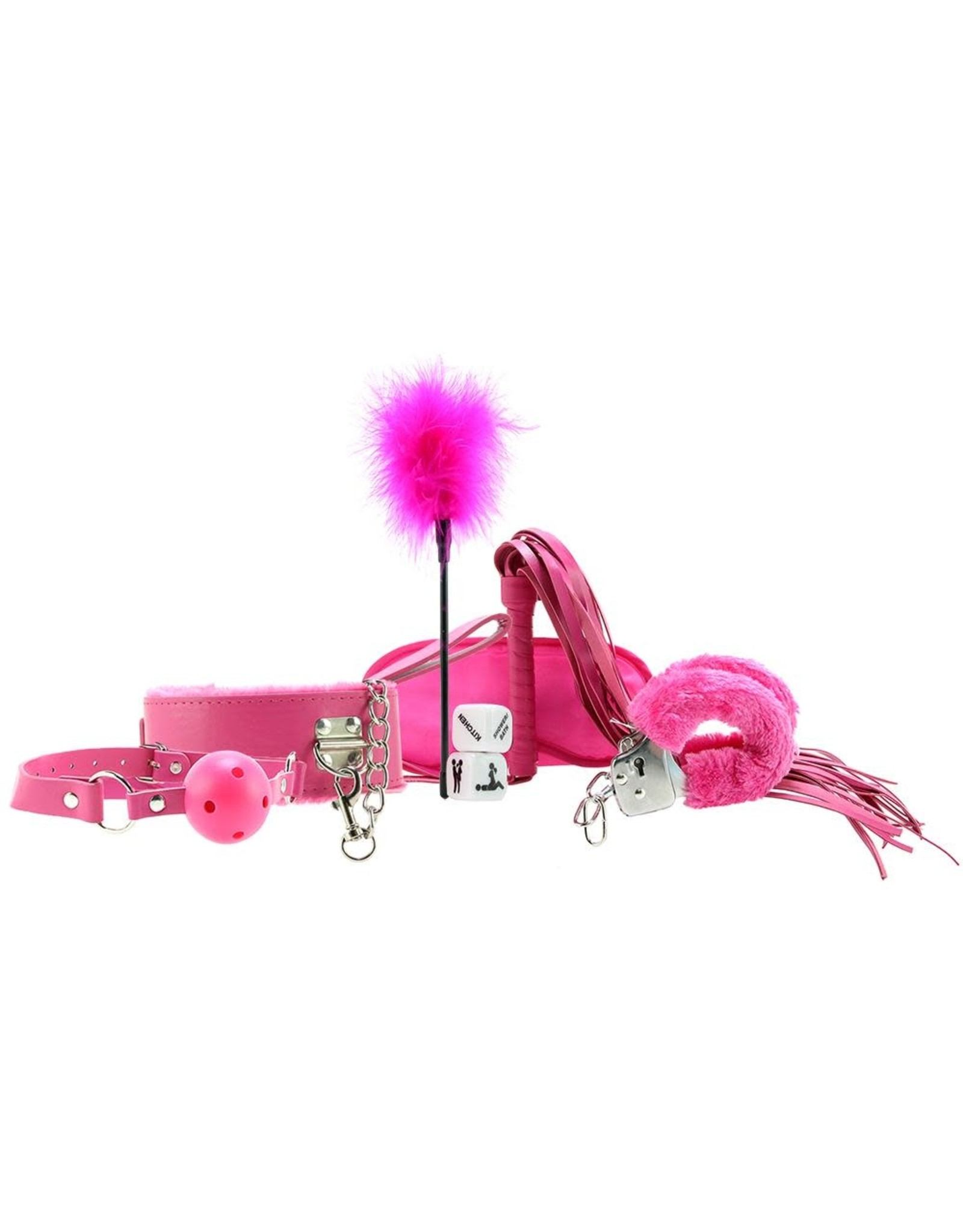 OUCH! - INTRODUCTORY BONDAGE KIT #6 - PINK