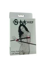 SEX & MISCHIEF SPORTSHEETS - S&M - KINKY PINKY CUFFS