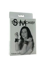 SEX & MISCHIEF SPORTSHEETS - S&M - FISHNET CUFFS