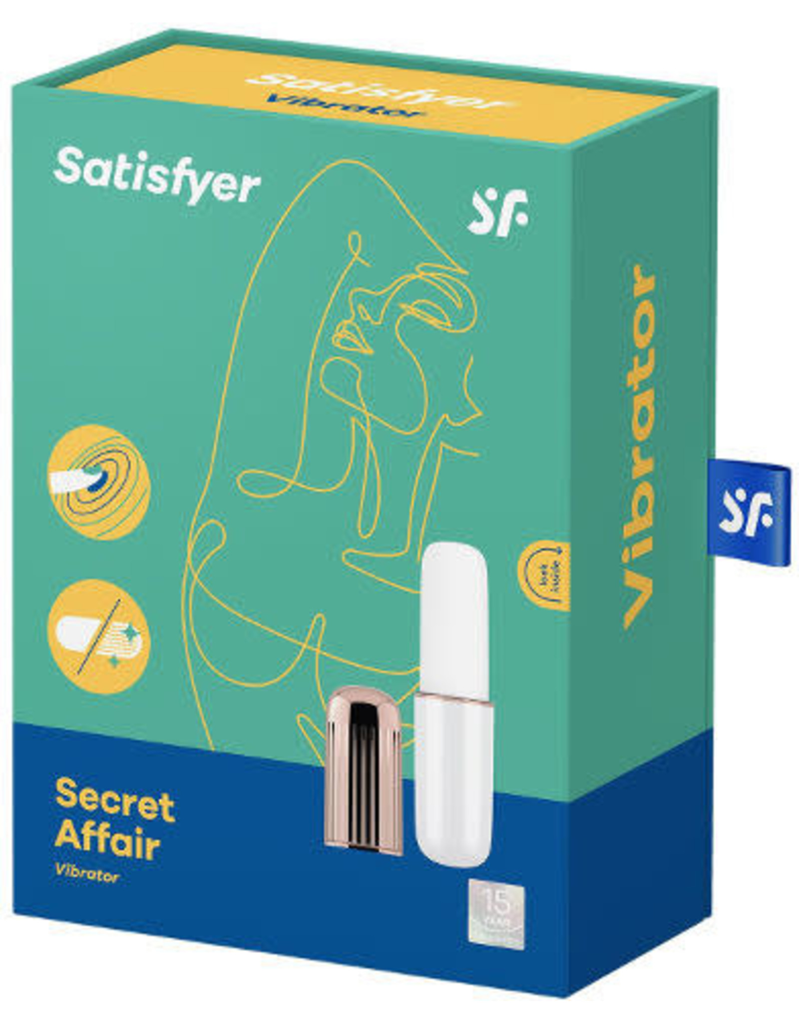 SATISFYER SATISFYER - MINI SECRET AFFAIR (WHITE)