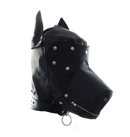DOG HEAD HOOD MASK