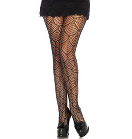 NETTED MERMAID LACE TIGHTS
