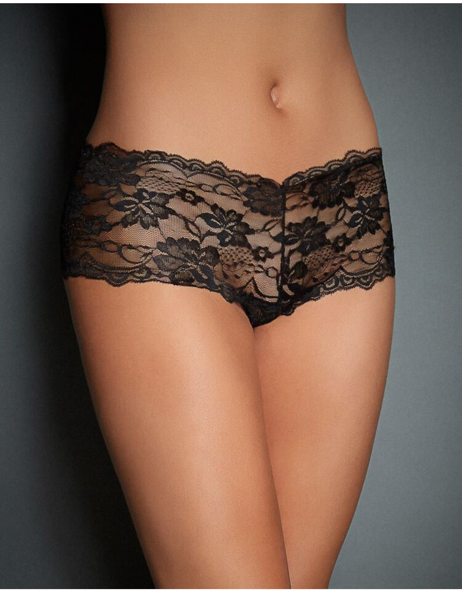 CRISS LACE PANTY BLACK