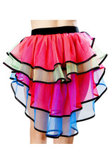 COLORFUL LAYERED TUTU SKIRT - ONE SIZE