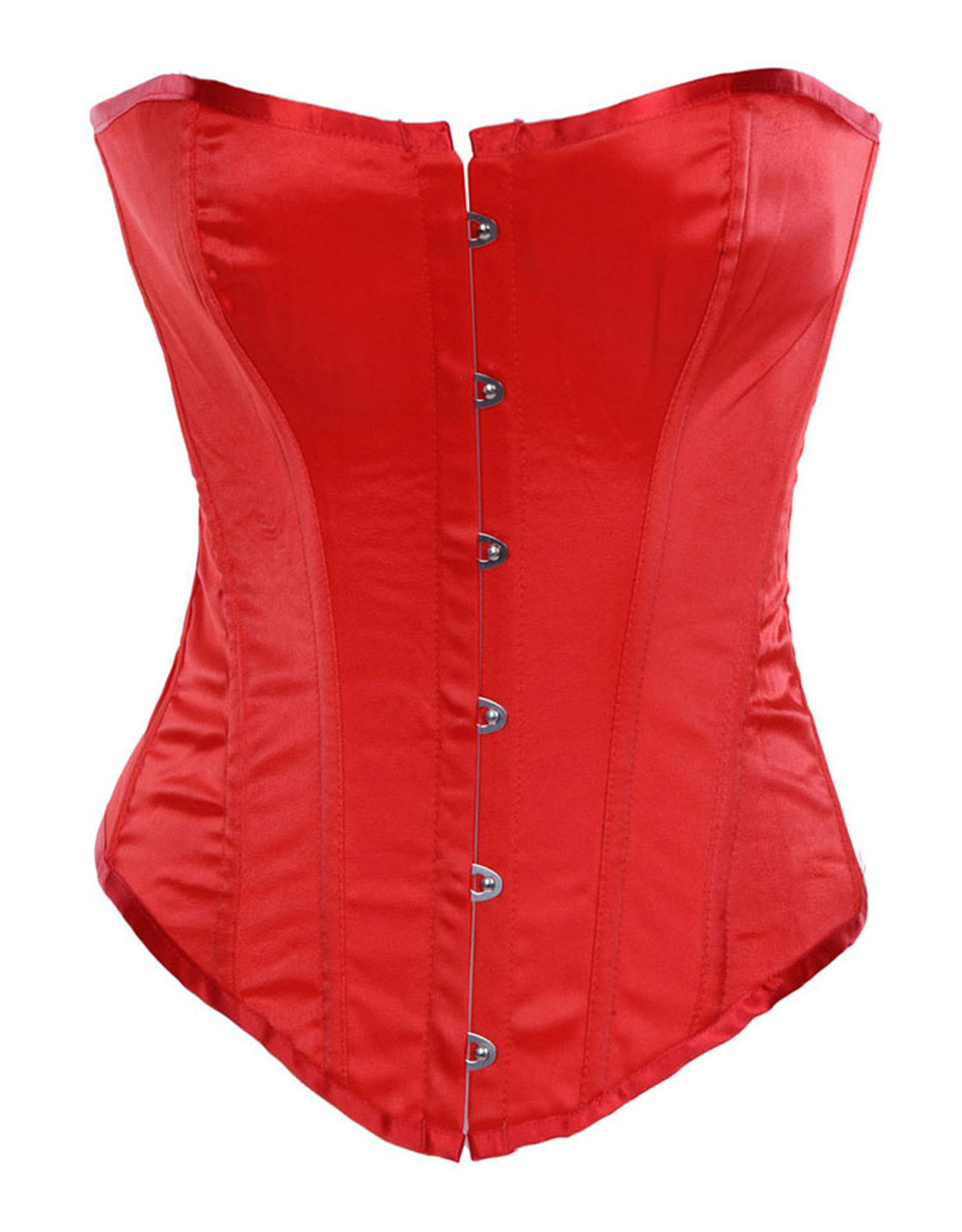 CLASSIC OVERBUST CORSET RED LARGE