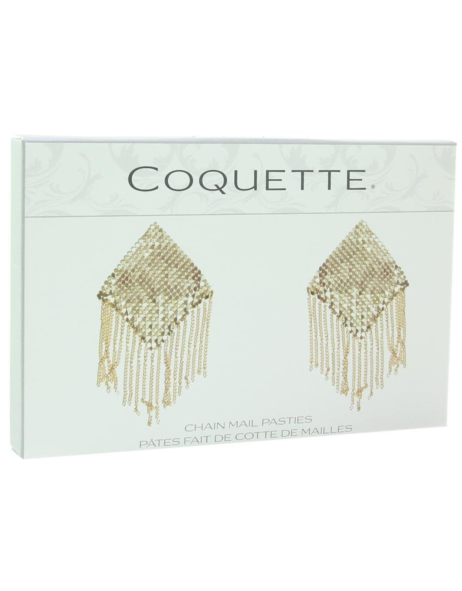 COQUETTE CHAIN MAIL NIPPLE PASTIES