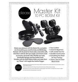 PLEASE - MASTER KIT 10 PC BDSM KIT