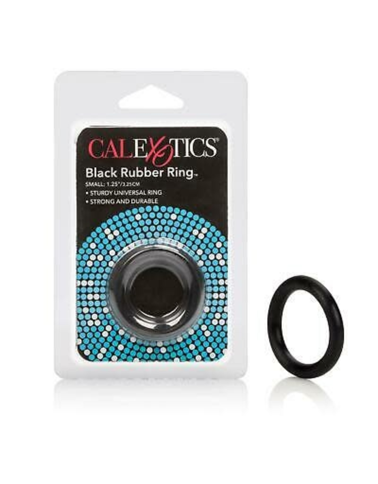 CALEXOTICS - RUBBER RING BLACK - SMALL