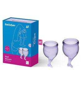 SATISFYER SATISFYER - FEEL SECURE MENSTRUAL CUP (LILAC)
