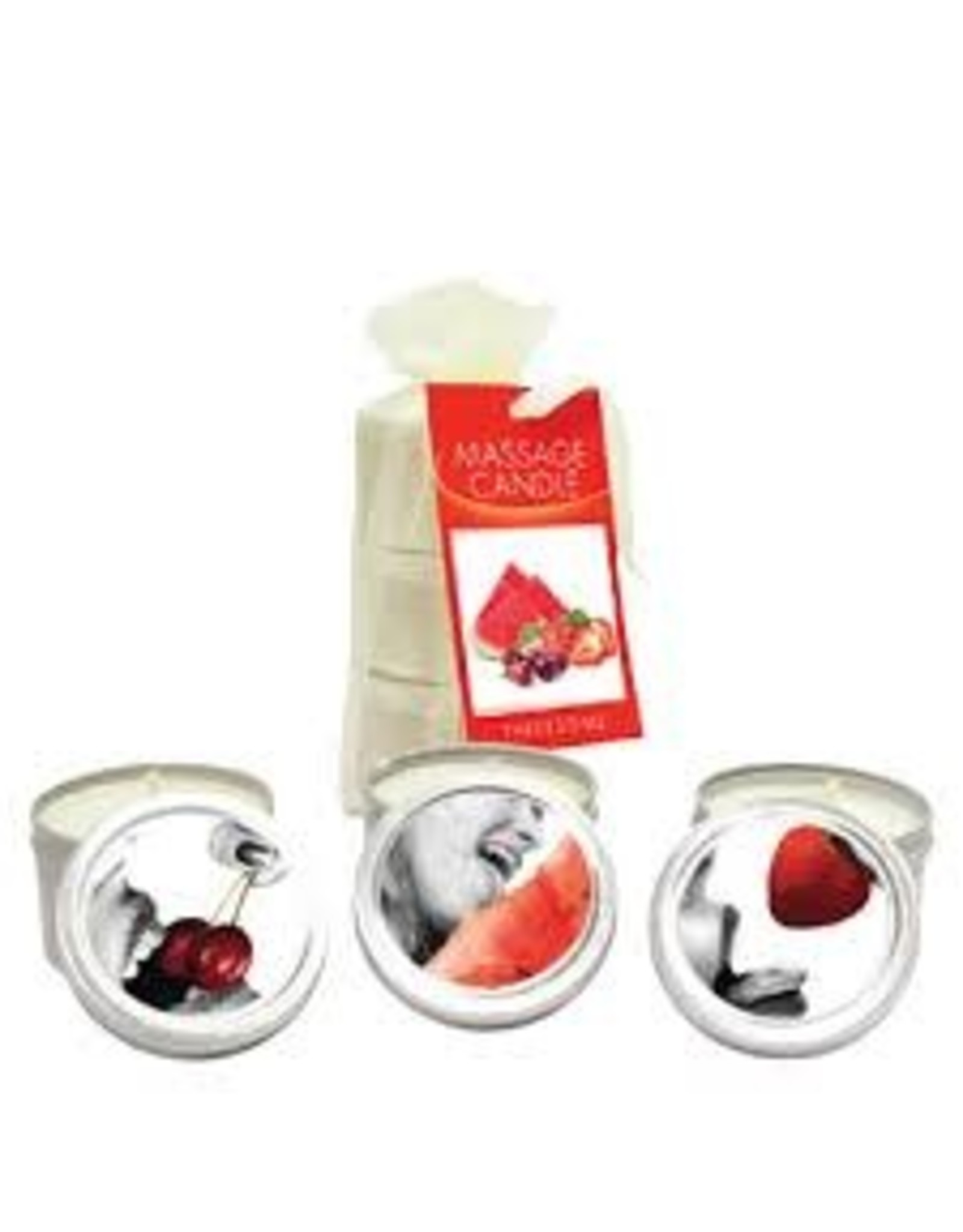 EARTHLY BODY EARTHLY BODY - MINI MASSAGE CANDLES - ASSORTED