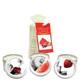 EARTHLY BODY - MINI MASSAGE CANDLES - ASSORTED