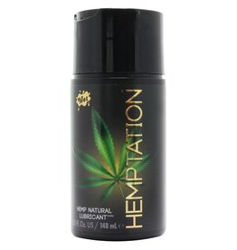 WET WET - HEMPTATION NATURAL HEMP LUBE - 5OZ