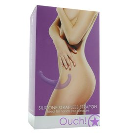 OUCH! - SILICONE STRAPLESS STRAP-ON