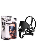 XR BRANDS EYE MASK HARNESS WITH BALL GAG