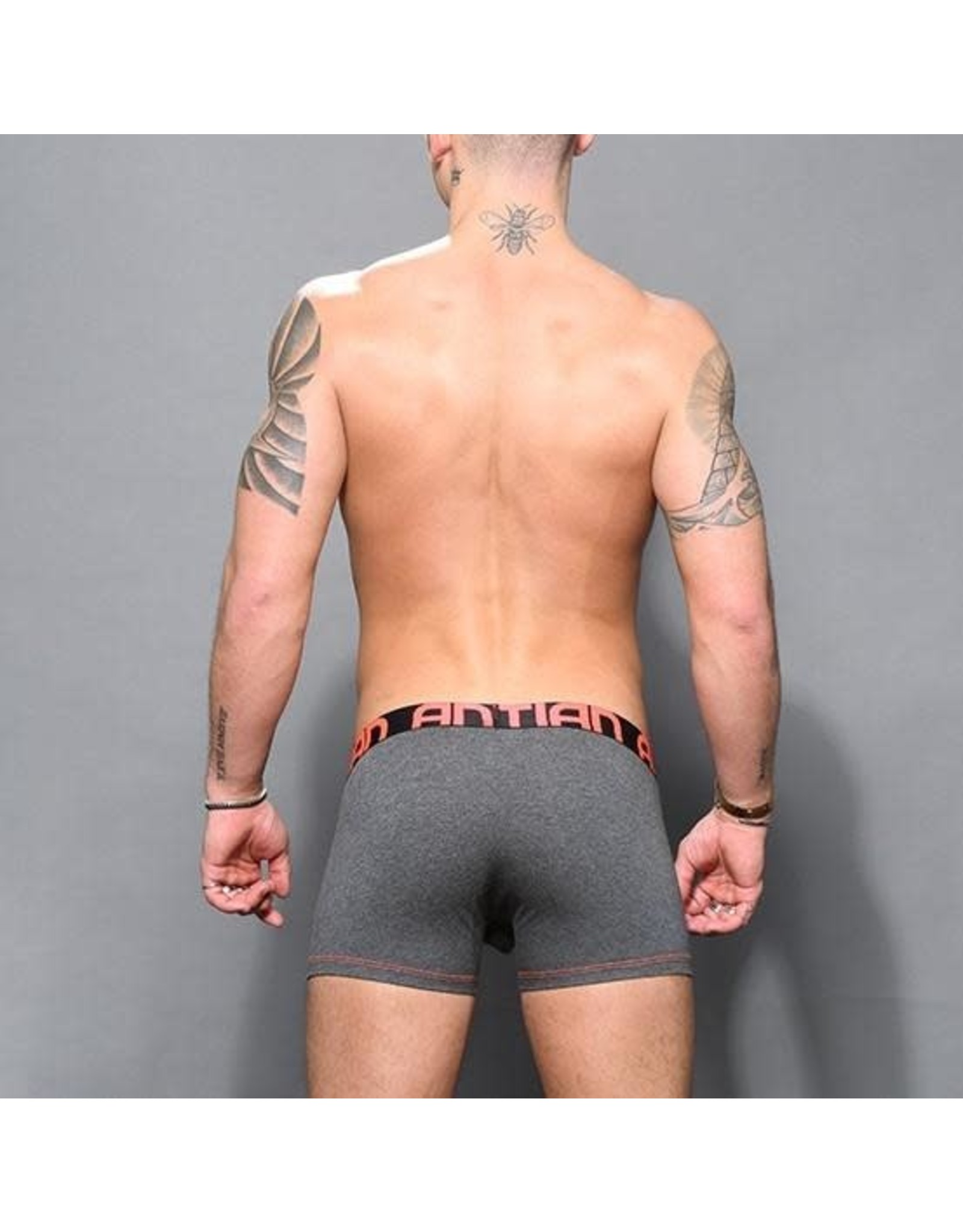 ANDREW CHRISTIAN - ALMOST NAKED BAMBOO BOXER CHARCOAL LARGE