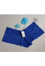 LACE BOYLEG BLUE SIZE SMALL