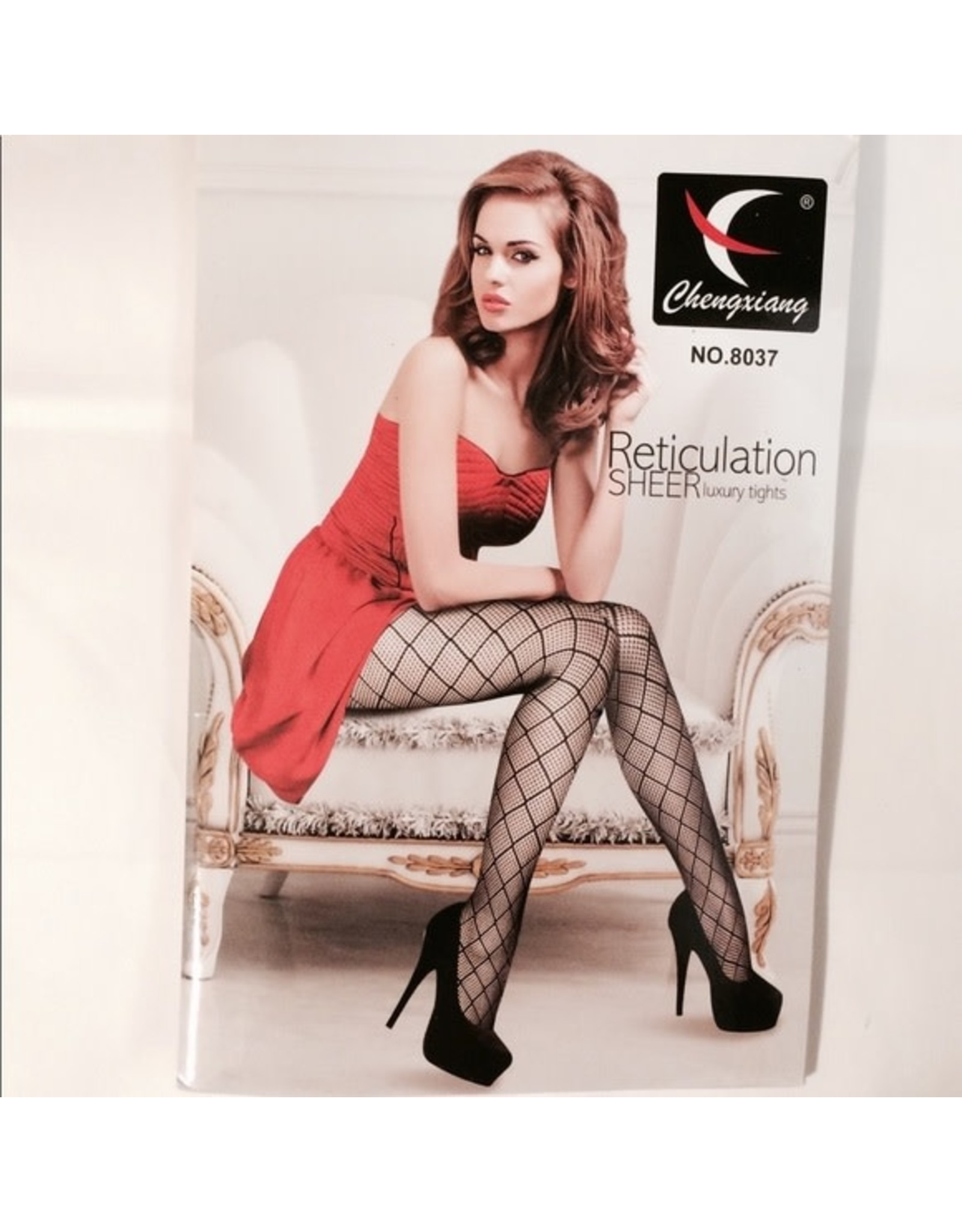 FENCE PANTYHOSE IN BLACK - ONE SIZE