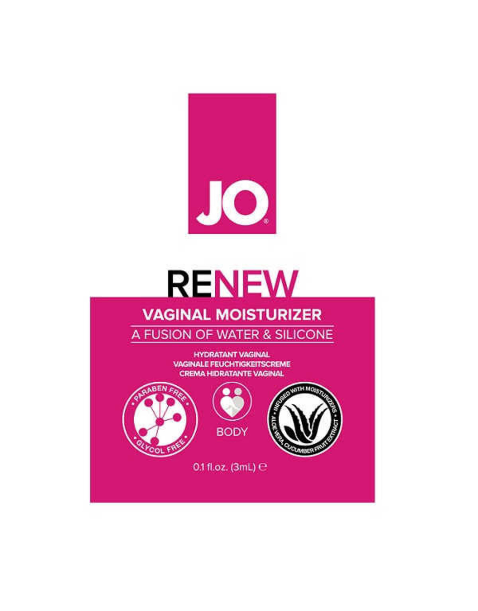 JO FOR HER - RENEW VAGINAL MOISTURIZER 5ML