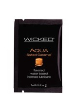 WICKED - SALTED CARAMEL LUBE - 3ML
