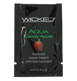 WICKED - CANDY APPLE LUBE - 3ML