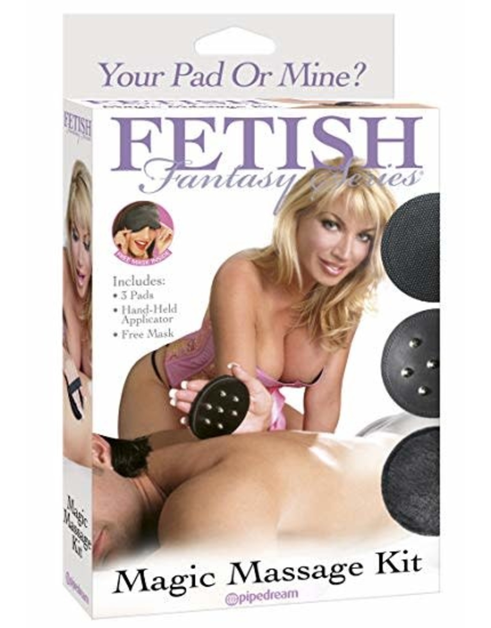 FETISH FANTASY FETISH FANTASY - MAGIC MASSAGE KIT - BLACK