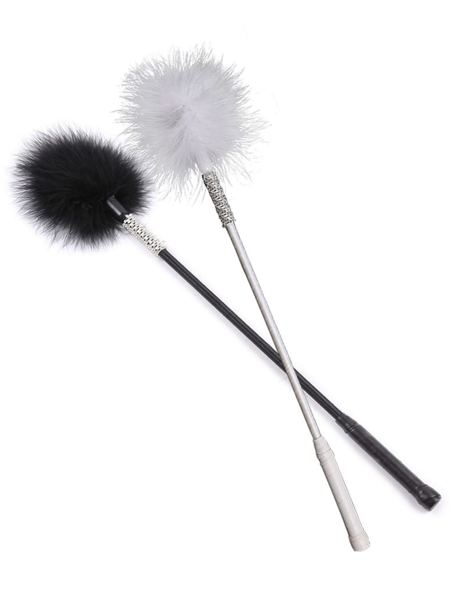 FLIRTING FEATHER WAND BLACK