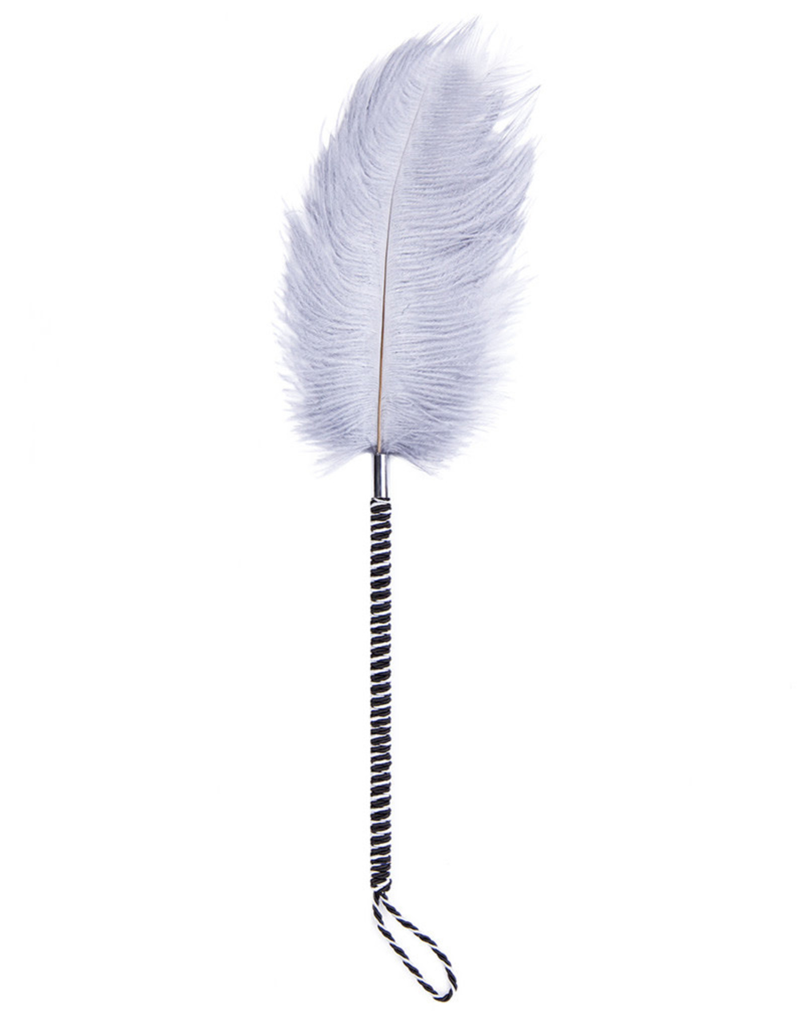 FLIRTING FEATHER TICKLER SILVER