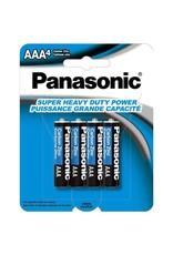 AAA PANASONIC BATTERIES 4PK