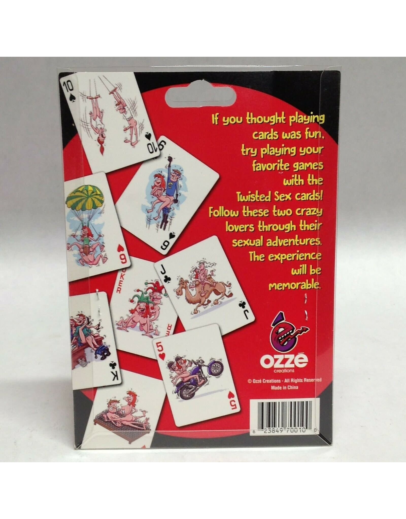 OZZE TWISTED SEX PLAYING CARDS