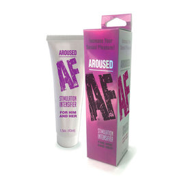 AROUSED AF STIMULATION INTENSIFIER FOR HIM AND HER 1.5OZ