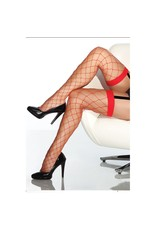 COQUETTE COQUETTE RED FENCENET THIGH HIGH OS