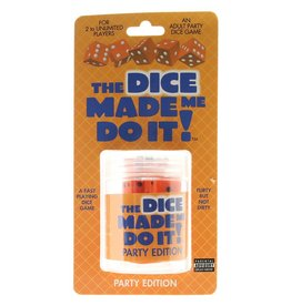 THE DICE MADE ME DO IT DICE GAME PARTY EDITION
