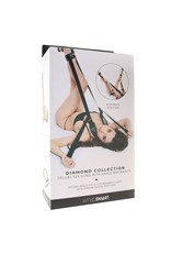DIAMOND DELUXE SEX SLING WITH ANKLE CUFFS