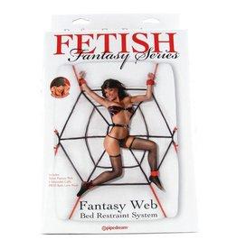 FETISH FANTASY FETISH FANTASY WEB BED RESTRAINT SYSTEM
