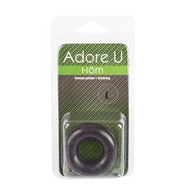 ADORE U HOM - COCKRING - BLACK