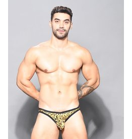 ANDREW CHRISTIAN ANDREW CHRISTIAN - GLAM LEOPARD BIKINI W/ ALMOST NAKED LARGE