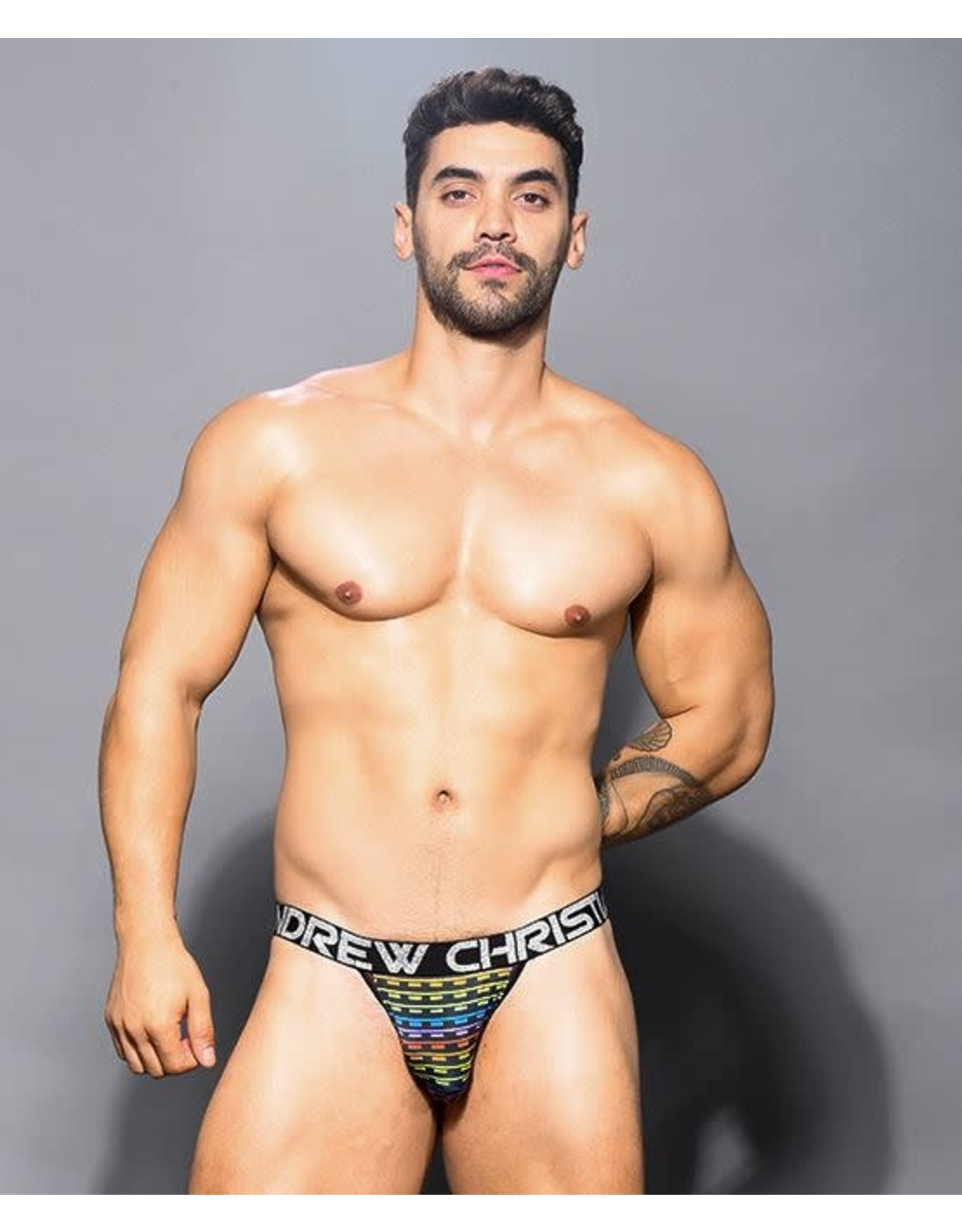 ANDREW CHRISTIAN ANDREW CHRISTIAN - DIGITAL PRIDE JOCK W/ ALMOST NAKED SMALL