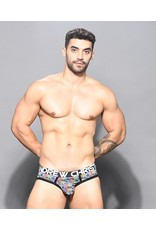 ANDREW CHRISTIAN ANDREW CHRISTIAN - DISCO PALMS BRIEF W/ ALMOST NAKED LARGE