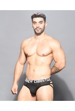 ANDREW CHRISTIAN ANDREW CHRISTIAN - REBEL MESH CAGE THONG W/ ALMOST NAKED MEDIUM