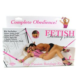 FETISH FANTASY FETISH FANTASY PINK PASSION BONDAGE KIT