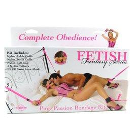 FETISH FANTASY FETISH FANTASY - PINK PASSION BONDAGE KIT