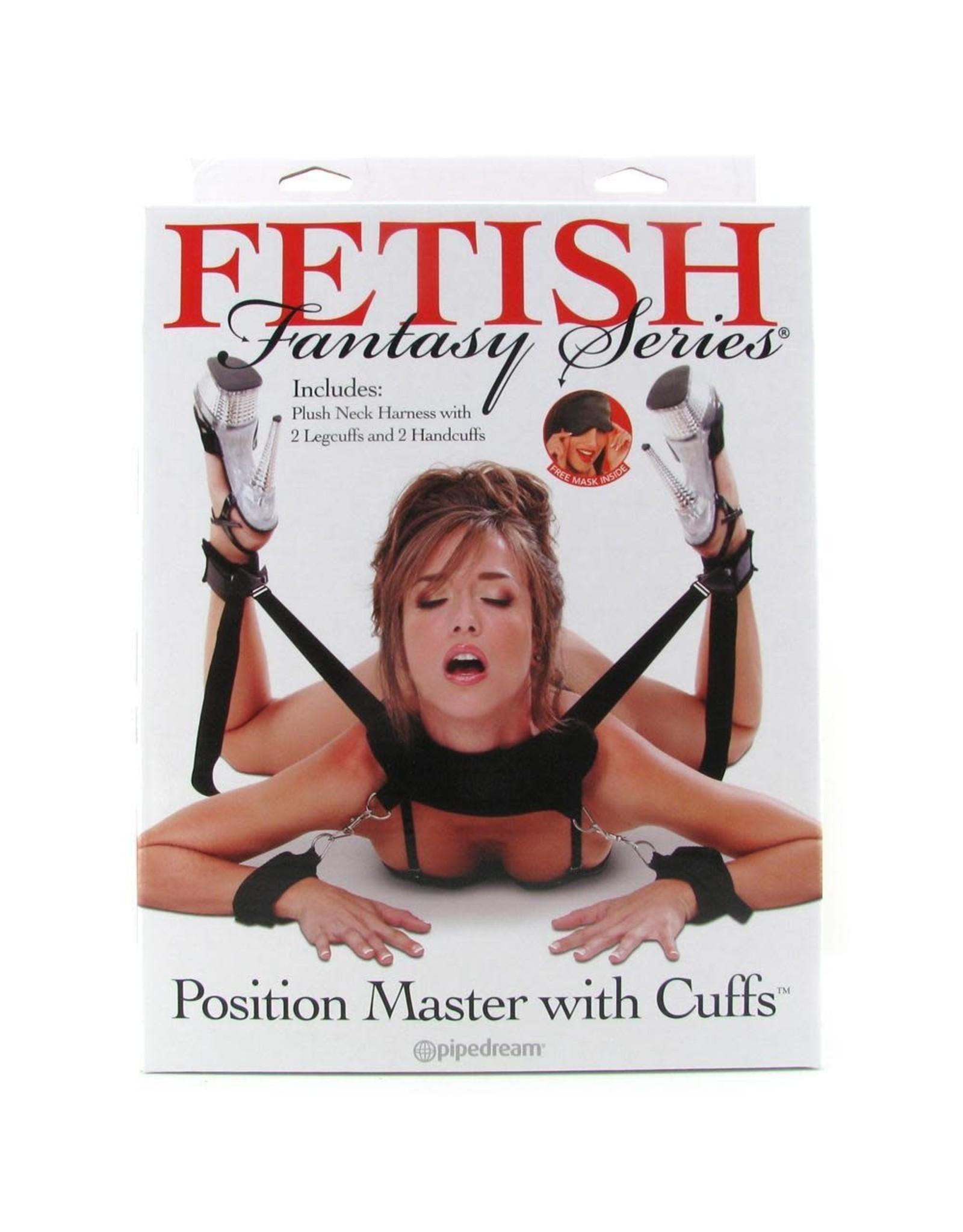 FETISH FANTASY FF POSITION MASTER WITH CUFFS