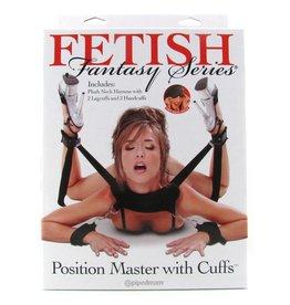 FETISH FANTASY FETISH FANTASY -  POSITION MASTER WITH CUFFS