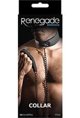 NS - RENEGADE BONDAGE - COLLAR - BLACK